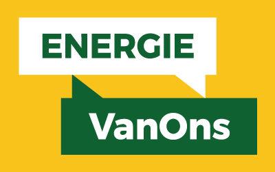 Samenwerking met Energie VanOns